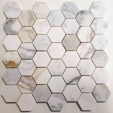 calacatta gold marble mosaics liners bosphorus imports