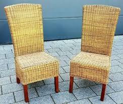 details zu rattanstuhl esszimmerstuhl rattan stuhl hochlehner massivholz rattanmöbel braun
