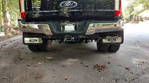 100 Blue Oval Truck Parts 20172019 Ford F350 Gatorback Dually Mud Flap Set
