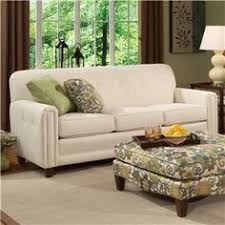102 Stationary Sofa with Skirted Base by Smith Brothers Miller