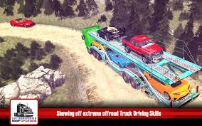 100 Car Truck Games Transporter 2018 Offroad USA Game Free Download