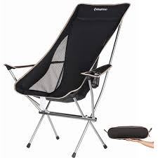 Amazon.com : KingCamp Ultralight Compact Strong High Back Folding ... Eureka Highback Recliner Camp Chair Djsboardshop Folding Camping Chairs Heavy Duty Luxury Padded High Back Director Kampa Xl Red For Sale Online Ebay Lweight Portable Low Eclipse Outdoor Llbean Mec Summit Relaxer With Green Carry Bag On Onbuy Top 10 Collection New Popular 2017 Headrest Sandy Beach From Camperite Leisure China El Indio