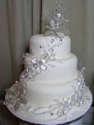 Sparkly Wedding Cakes