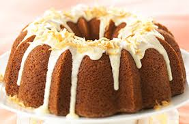 Coconut Citrus Bundt Cake with Rum Glaze