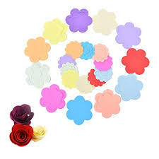 ODETOJOY Rose Flower Quilling Paper Strips Craft Make Flowers Kit For Scrapbooking Set