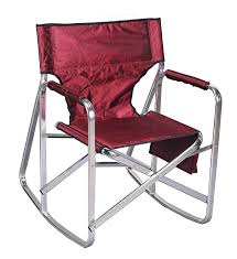 100 Burgundy Rocking Chair Director Mings Mark Inc
