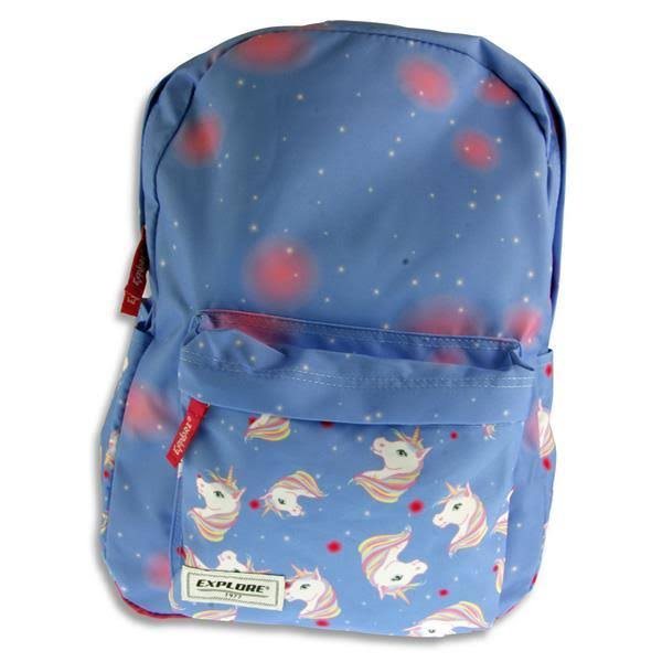 Explore 20ltr Extra-Strong Backpack - Blue Unicorn