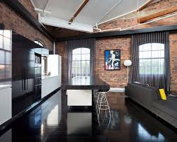 Industrial Kitchen Has With Dark Elegant Beauty Design TONIC