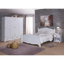 armoire chambre blanche chambre literie grande armoire 4 portes 4 tiroirs style anglais