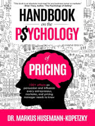read handbook on the psychology of pricing by markus