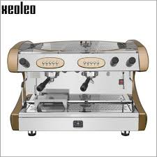 Xeoleo Double Nozzle Commercial Semi Automatic Espresso Machine Semiautomatic Coffee Maker Professional In Makers From Home Appliances