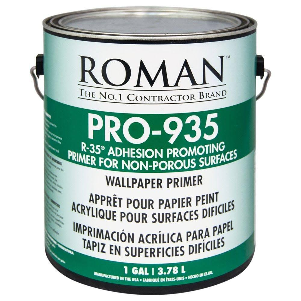 Roman Decorating Products Pro-935 Wallpaper Primer - 3.78l