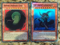 yugioh seal of orichalcos deck yugioh anime card lot of 2 serpent geh great