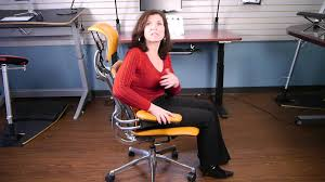 humanscale freedom chair youtube