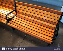 vacant park bench autumn stock photos images pictures images