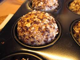leinsamen haferflocken muffins