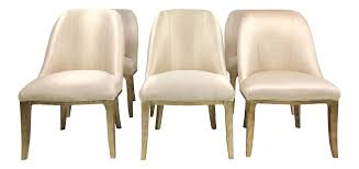 Contemporary Champagne Cream Upholstered Dining Chairs - Set Of 3 Cream Faux Leather Ding Chair With Curved Leg Crossley Single Adela Maple And Lpd Padstow Chairs Pair Brown Or Red Faux Leather Ding Chairs Antique Vintage Button Stud Detail Pack Of 2 Table Seat Set Bolero Tan Mark Harris California Simpli Home Cosmopolitan 9piece 8