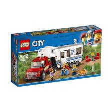 100 Lego City Tanker Truck LEGO Pickup Caravan 60182 Kmart