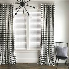 Allen Roth Curtains Bristol by Black And White Panel Curtains Blog4 Us