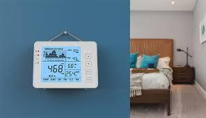 sa 1200p desktop wand montieren digital air qualität co2 monitor 5000ppm daten logger iaq meter odm hergestellt monitor buy indoor air quality