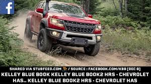 100 Kelley Blue Book Trucks Chevy 2 Hrs C Publication From