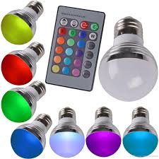 high quality color change 3w high power rgb bulb g45 led light