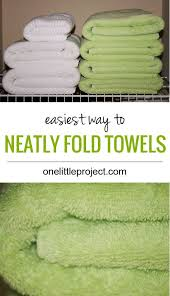 Decorative Towels For Bathroom Ideas by 25 Unique Fold Towels Ideas On Pinterest How To Fold Towels