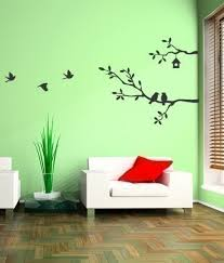 Painting Birds On A Wall