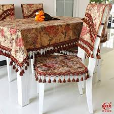 Sellify 2049 Chair Covers New Arrival Fashion Classic Quality Fabric Table Runner Tablecloth