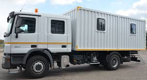 Service, Maintenance Lubrication And Workshop Trucks.