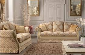 2 sitzer sofa für wohnzimmer klassisch mit stahlfedern