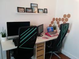 bureau customisé deux ikea hack pour rendre bureau plus personnel déco facile