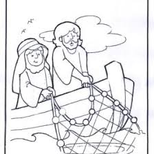 Jesus Coloring Pages And Fishing On Pinterest