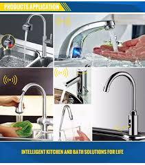 Diy Kitchen Faucet Wholesale Kitchen Diy Touchless Motion Sensor Water Faucet Tap Adapter Buy Sensor Faucet Adapter Motion Sensor Adapter Touchless Faucet Adapter
