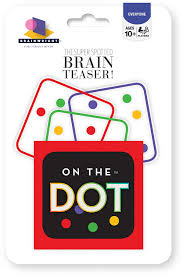 Halloween Brain Teasers Math by Amazon Com On The Dot Game Toys U0026 Games