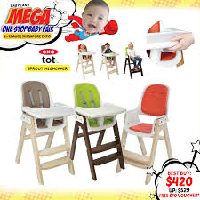 Oxo Tot Sprout High Chair by Oxo Tot Sprout High Chair Smart Design Wins Red Dot Best Of The