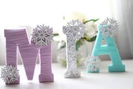 Custom Wooden Letters Frozen Inspired or Winter Wonderland