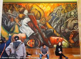 Jose Clemente Orozco Murales San Ildefonso by Diego Rivera Oaxaca Cultural Navigator Norma Schafer