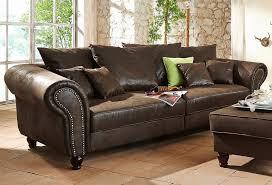 home affaire big sofa bigby home affaire idyllisch gemütlich maritim rustikal der landhausstil kaufen otto