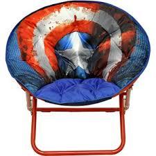 Microsuede Folding Saucer Chair by Kids Saucer Chair Wayfair