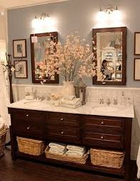 Baby Blue And Brown Bathroom Set by Best 25 Dark Wood Bathroom Ideas On Pinterest Decorative Stones