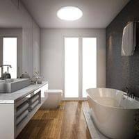 led badezimmer decken leuchte ip44 inkl 18w 1600 lumen led platine 4 000 kelvin neutralweiß deckenle b k licht