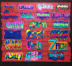 100 Pinterest Art Studio Graffiti Name Lesson 1000 Ideas About Graffiti Names On