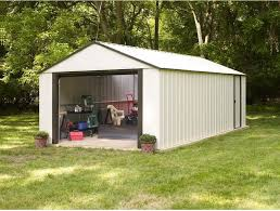 Arrow Newburgh 8x6 Storage Shed by Steel Storage Shed Atv Dirt Bike Backyard Garage Tools Lawn Mowers