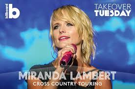 Bathroom Sink Miranda Lambert Writers by Miranda Lambert U0027s U0027keeper Of The Flame U0027 Tour Playlist Billboard