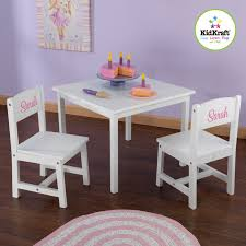 KidKraft Personalized Aspen Kids39 3 Piece Table And Chair Broda ... Kids Round Table Set Tyres2c Children39s White And Chairs Personalized Play Hayneedle Best Rated In Chair Sets Helpful Customer Reviews Springs Hottest Sales On Kidkraft Storage 2 Kidkraft Bench Fresh Star And Shop Avalon Ii Free Shipping Exciting Kitchen Card Gumtree Small Rattan Multiple Colors Pink Farmhouse Beautiful New Sturdy Table With Four Chairs Beyondborders 15 Benches For Child S Wooden