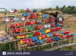 100 Toy Cars And Trucks Colorful Toy Cars And Trucks Are For Sell On Road Side Stand Stock