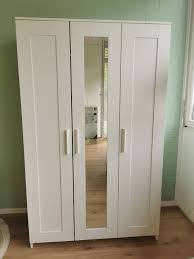 ikea brimnes kleiderschrank mit spiegel kaufen auf ricardo