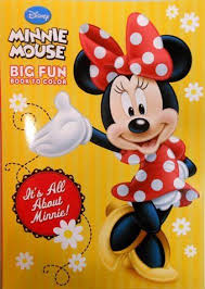Disney Minnie Mouse Coloring Book Its All About By Dalmation Press