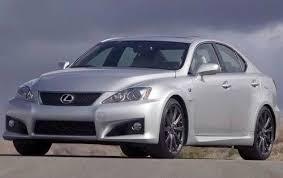 Used 2009 Lexus IS F Sedan Pricing For Sale